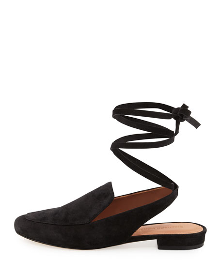 Bena Ankle-Wrap Loafer