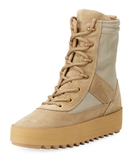 Suede Platform Desert Boot