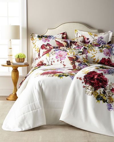 Floris Queen Duvet Cover  and Matching Items