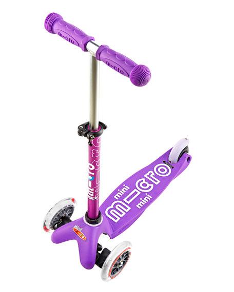 Micro Mini Deluxe Kick Scooter, Aqua, Ages 2-5