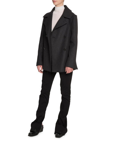 Wool Notched-Collar Jacket and Matching Items