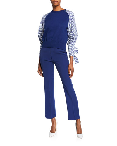 Tailored Cigarette Pants and Matching Items