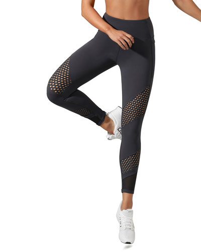 Shimmer Core Pocket Full-Length Tights