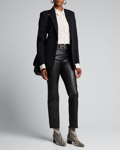 New Laurent Comfort Wool Blazer