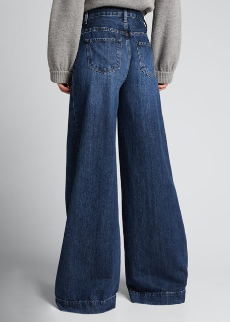Thelma High-Rise Super Wide-Leg Jeans