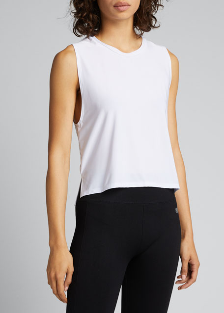 Tempo Cropped Active Tank
