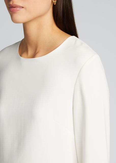 Rome Long-Sleeve High-Low Top