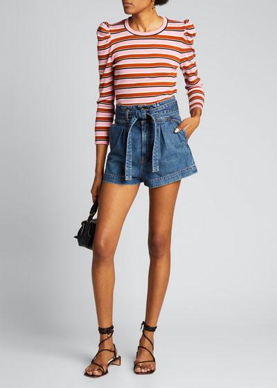 Nori Paperbag Shorts