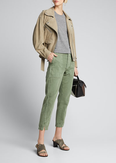 Twisted-Seam Army Pants