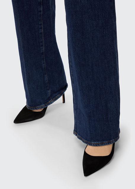 Joan High-Rise Wide-Leg Jeans