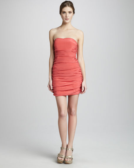 Weldon Fitted Cocktail Dress