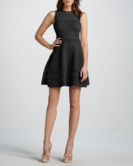Flouncy Knit Dress