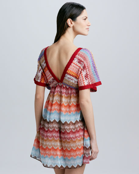 Pizzo Caftan Coverup Dress