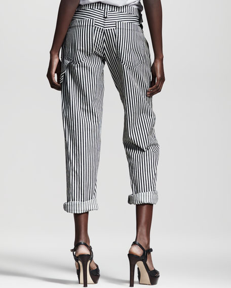 Practitioner Striped Pants