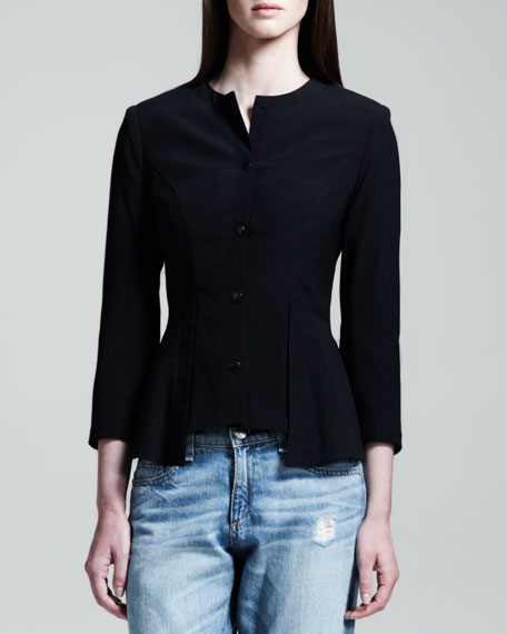 Ambra Peplum-Back Jacket