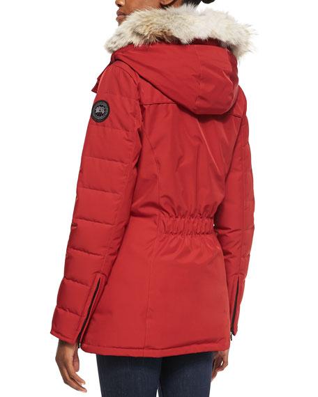 Belmont Fur-Hooded Down Coat