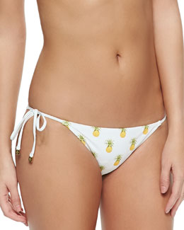 Mira Pineapple-Print Tie Bottom