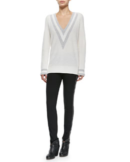 Cashmere Talia V-Neck Sweater