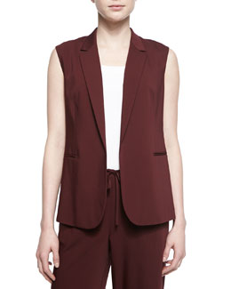 Adar Open-Front Suiting Vest