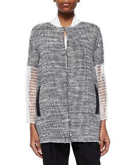 Anabelle Coat W/ Mesh Sleeves