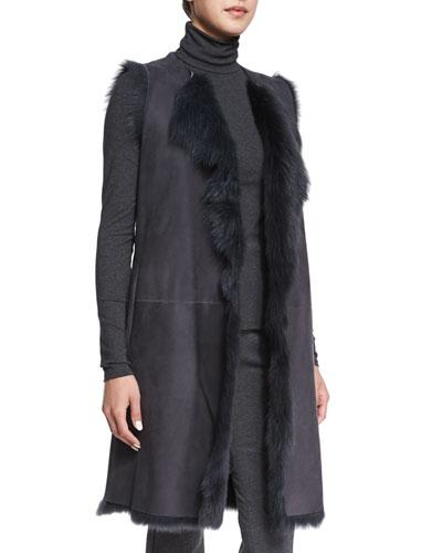 Curako B. Hollice Fur Vest