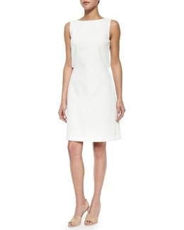 Emison Crepe Cutout Sheath Dress