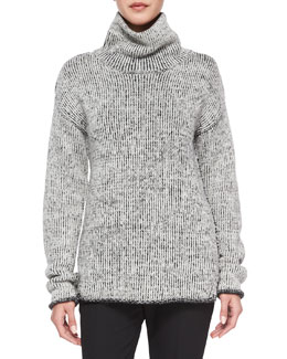 Tessalee Fine Haven Sweater, Ivory/Black