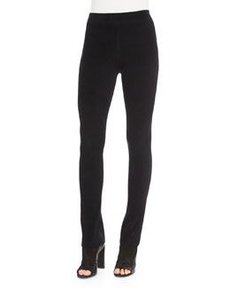 Corduroy Full-Length Leggings