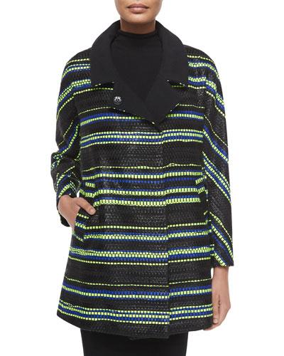 Eldridge Couture Stripe Coat