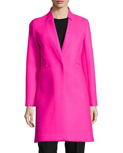 Melton Bonded Slim Coat