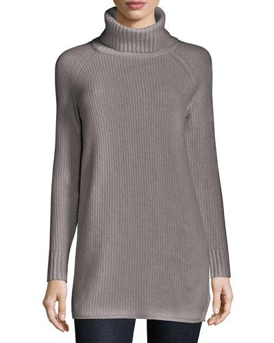 Eurala Cashmere Turtleneck Sweater