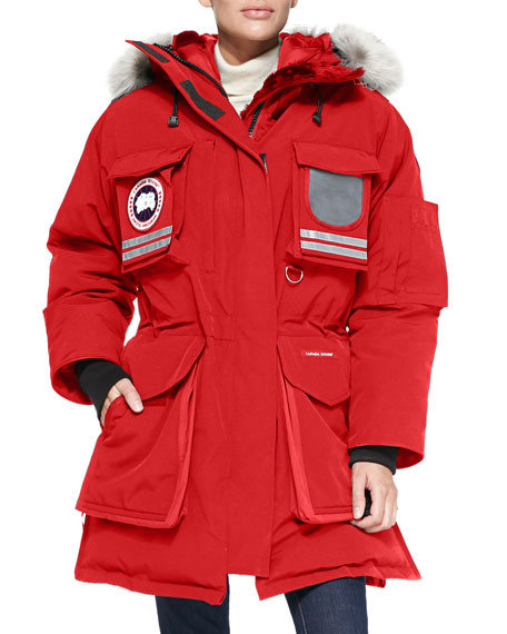 Canada Goose' Snow Mantra Parka - Men's - S - Red