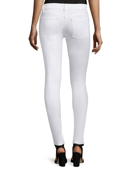 Emma Power Legging Jeans, Porcelain