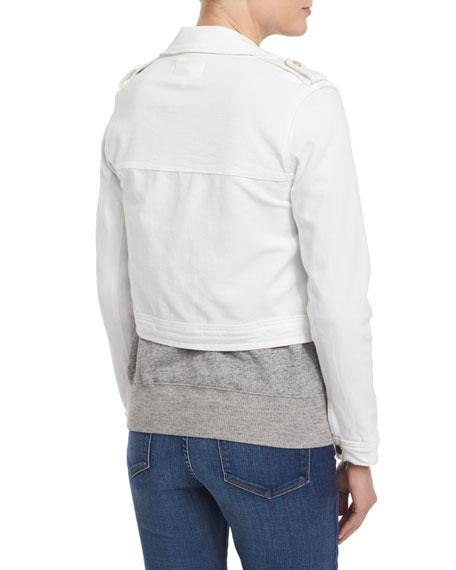 Crop Trench Jacket