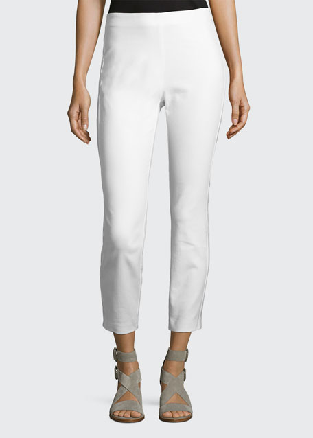 Rag & Bone Simone Cropped Skinny Pants, White