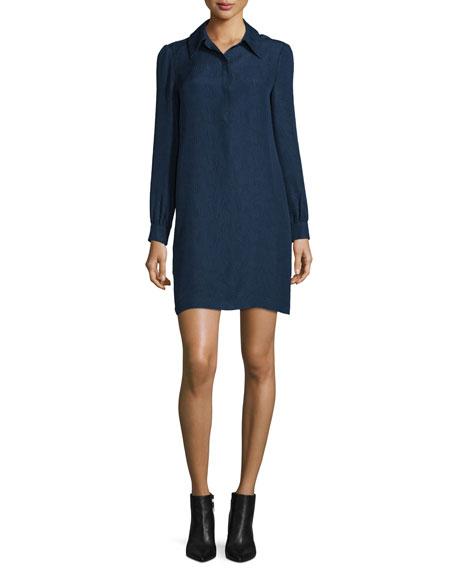 Seanna Belted Silk Shirtdress