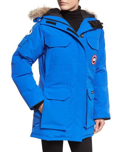 PBI Expedition Hooded Parka  Royal Blue