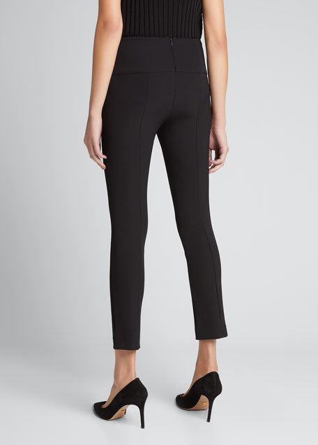 Zip-Back Scuba Leggings