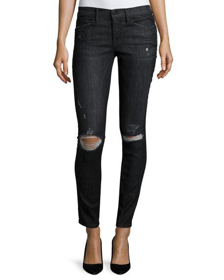 Le Skinny de Jeanne Distressed Jeans, Knox