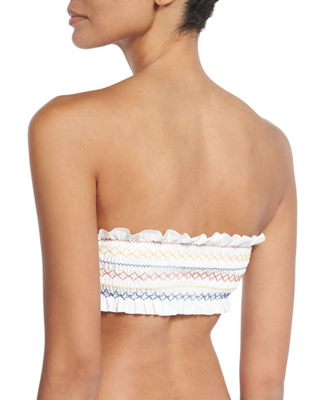Costa Bandeau Swim Top