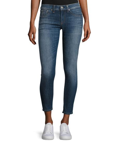 Skinny Capri Denim Jeans, Rae