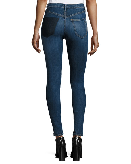 Dive High-Rise Skinny Jeans, Eddy