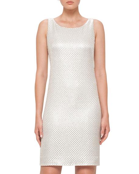 St. Gallen Weave Sheath Dress