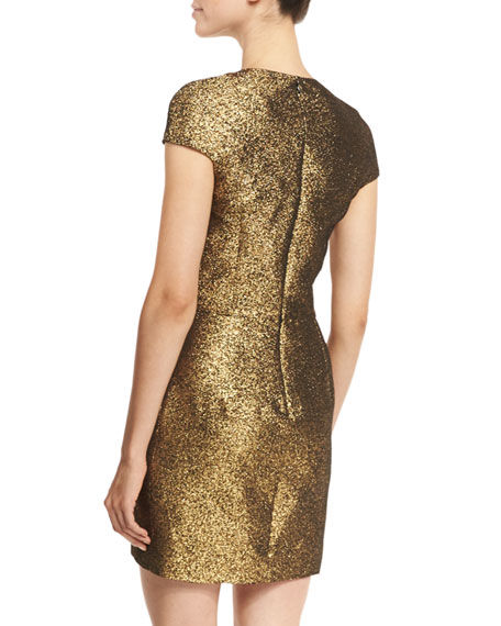 Hadlie Two Metallic Mini Dress