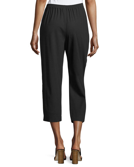 Cropped Narrow Trousers
