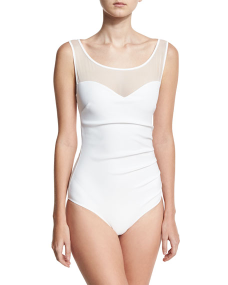 Agave Illusion One-Piece Swimsuit