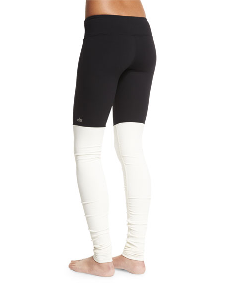 Goddess Ribbed Sport Leggings
