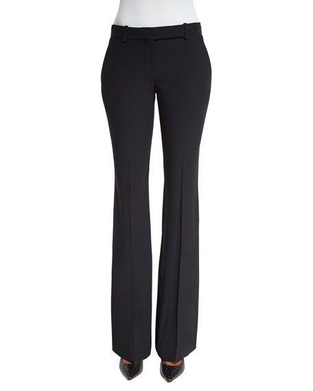 Classic Cropped Pants, Black