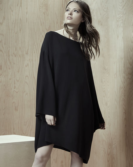 Tharpe Long-Sleeve Easy Dress
