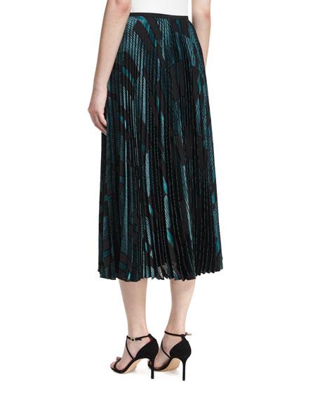 Florianna Pleated Midi Skirt